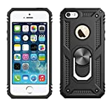 Wellpoint iPhone 5 and se Defender Case|Ring Holder & Kickstand in-Built |Military Grade