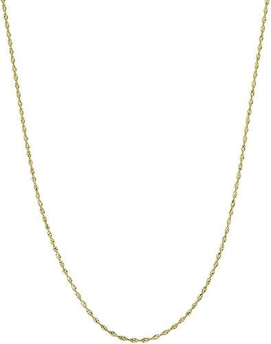 n ° 1 en línea 14ct oro amarillo Dorica Cadena Collar 2,1mm cierre cierre cierre de pinza de langosta opciones de longitud  41465161  autorización