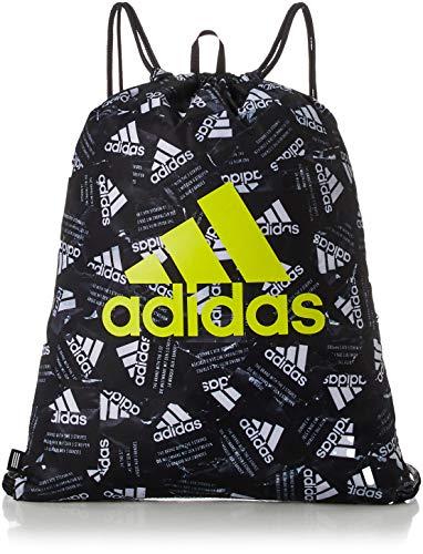 adidas SP Gymsack G, Sports bag Unisex-Adult, black/white, NS