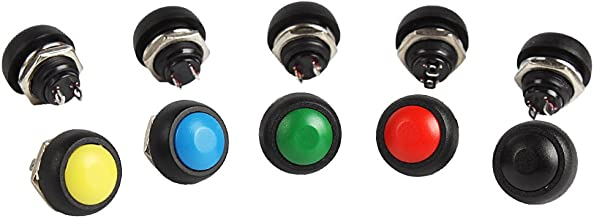 rojo Euroconnex redondo Interruptor estanco 3P ON- OFF