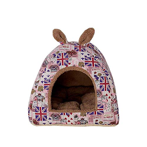 ZXL Eco-vriendelijke Cat Bed Lounge Slaapzak Verwijderbare Zachte Matrassen Zachte Opvouwbare Huisdier Huis Kat Tent Nest Gooi Puppy Doghouse