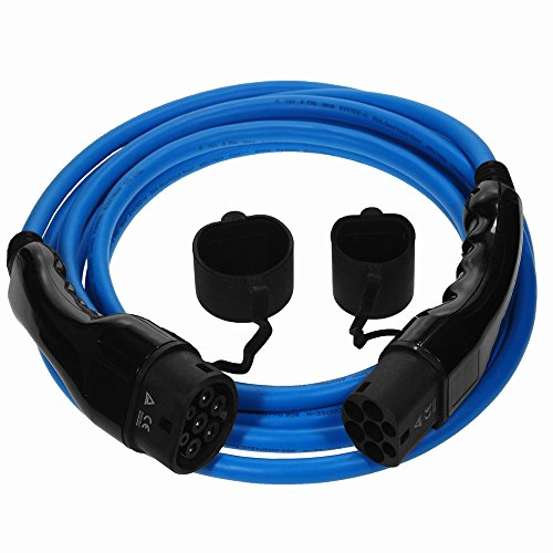 /IEC62196/tipo 2/a tipo 2/| 16/amp Zoe ~ UK Garanzia Tesla EV//elettrico auto/ Cavo di 5/meter /Cavo di ricarica/