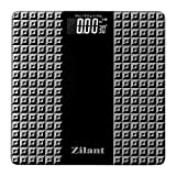 Zilant Personal Bathroom Tempered Glass Digital Scale Weighing Machine with Step on Technology
