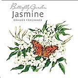Rosa blanca Estratosférica 'mariposario' bolsita perfumada - jazmín