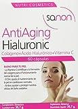 Sanon Nutricosmetica, Anti envejecimiento con Hialuronic, 60 Cápsulas. 595 mg