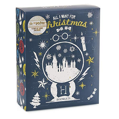 Paladone Harry Potter Sock Advent Calendar - Officially Licensed Merchandise