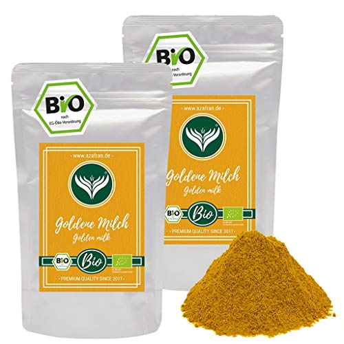 Azafran BIO Goldene Milch Kurkuma Latte Gewürzmischung 1kg
