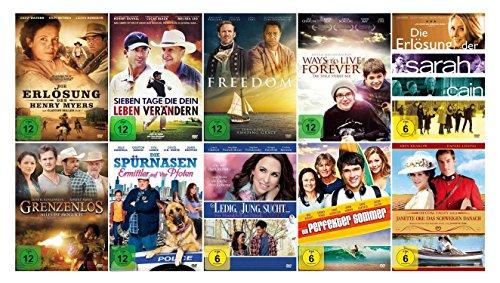 Die christliche Filme Glauben Spielfilm - Sammlung Teil 2 ( 10 ausgewählte Glaubensfilme mit viel Botschaft - Herz und Liebe ) [10 DVDs]
