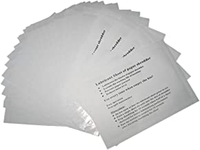 VANRA Shredder Lubricant Sheets (Pack of 12)