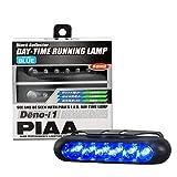 PIAA デイタイムランプ LED ブルー 75cd Deno-i1 ※車検対応可 2個入 12V/0.6W L-221B