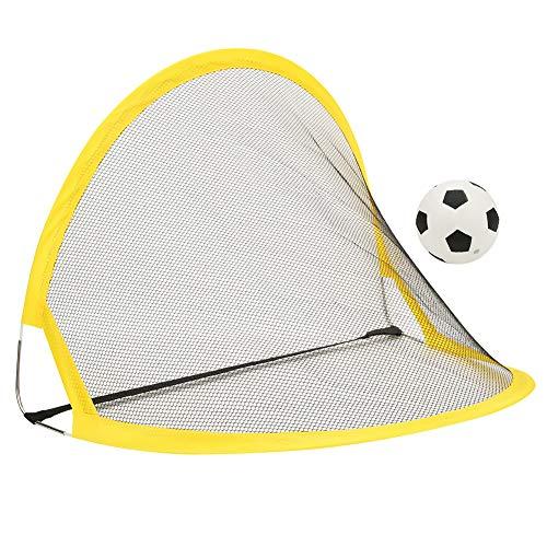 Rehomy opvouwbare voetbal poort doek materiaal voetbal deur 68cm ijzeren paal outdoor sport oefening speelgoed (68cm)