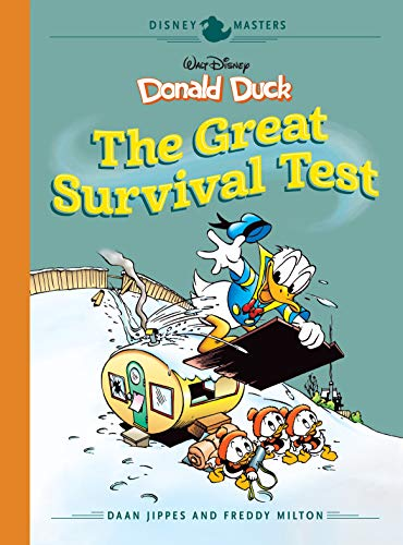 Disney Masters Vol. 4: Walt Disney's Donald Duck: The Great Survival Test (English Edition)