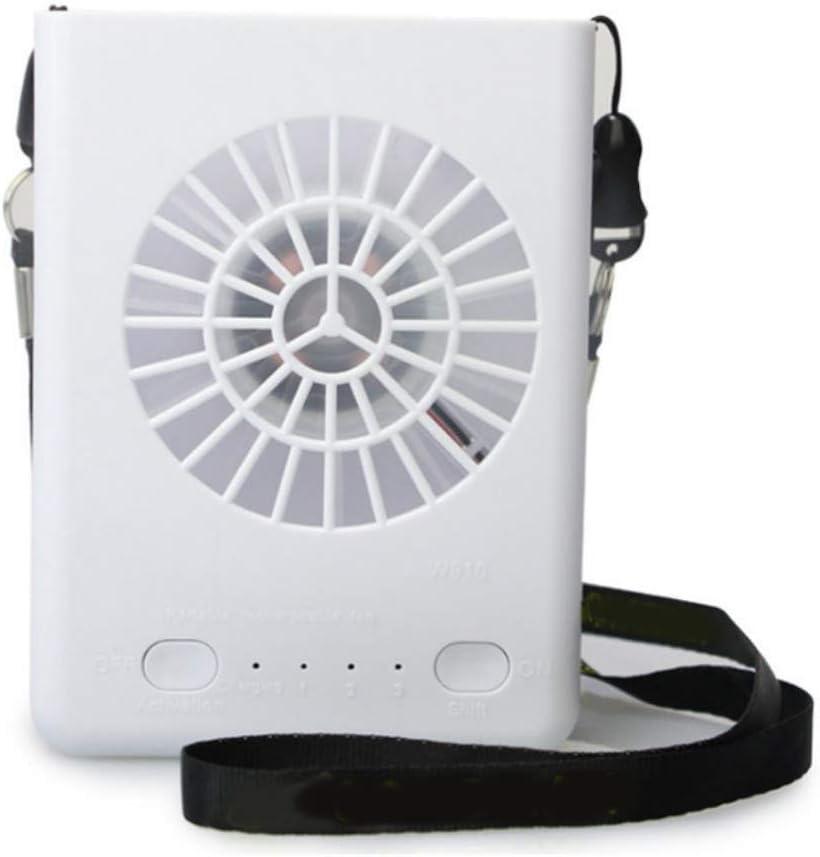 Inicio Ventilateur USB Portable Mini Ventilateur de Cou Mains Libres Aliment/é Par Batterie Rechargeable Ventilateur Portable /à 3 Vitesses pour Tour de Cou