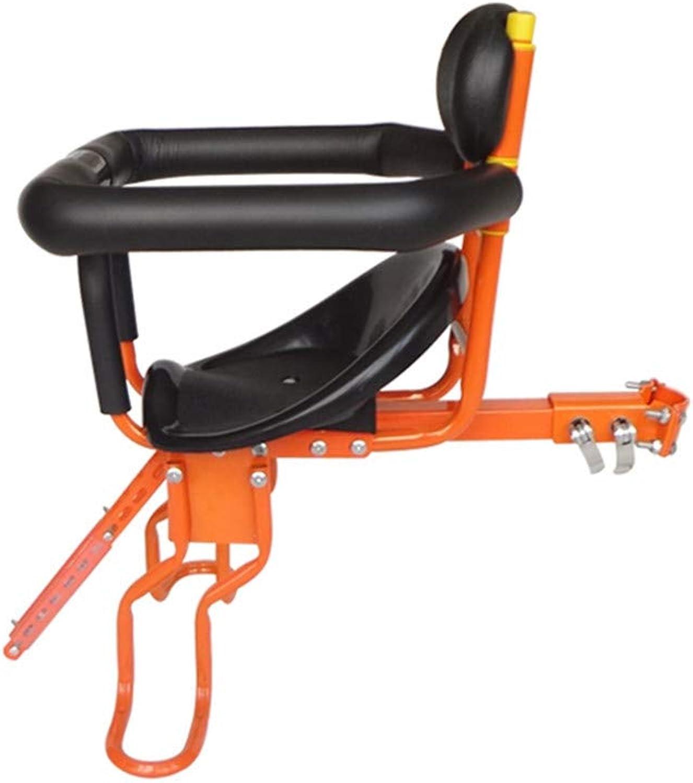 LCYCN Kindersitz, Abnehmbarer Fahrrad-Vordersitz Kindersicherheits-Fahrradsitz