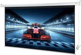 """Homegear 100"""" HD Motorized 16:9 Projector Screen W/Remote Control"""