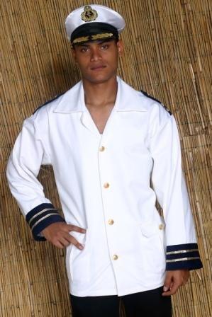 TH-MP Kapitän Jacke für Herren Gr. XXL Kapitänsjacke Uniform Kostüm