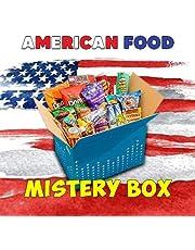 MYSTERY BOX Amerikaanse snacks, 15 stuks, geheime doos, 30% producten als cadeau voor levensmiddelen en dranken