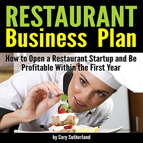 Restaurant Business Plan audiobook cover art