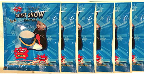 Science Gone Fun Amazing Instant Snow Powder - 6 Pack (10g./Pack)