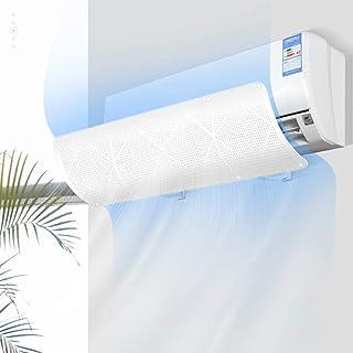 Vosarea Coperchio della Protezione del condizionatore Protezione per la Pulizia a Prova di Polvere per Aria condizionata montata a Parete