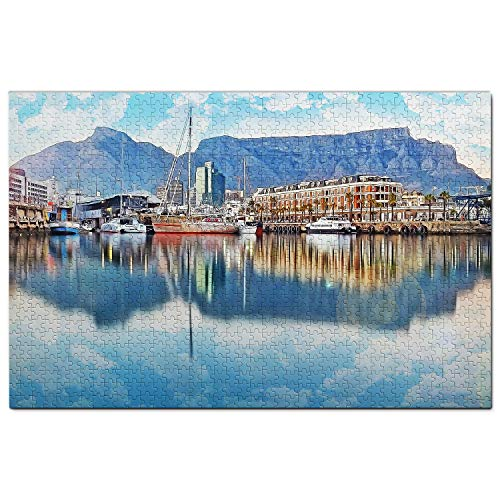 South Africa Jigsaw Puzzle 1000 Piece South Africa Victoria & Alfred Waterfront Cape Town Puzzle Travel Souvenir Wooden