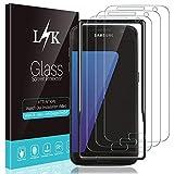 L K 3 Pièces Protection Écran pour Samsung Galaxy S7, S7 Verre Trempé...