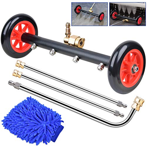 """WARMQ 16"""" Undercarriage Pressure Washer & Water Broom Only $32.19"""
