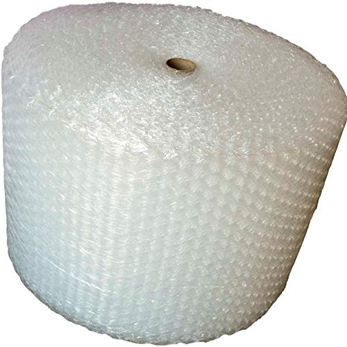 Upkg 125ft Bubble Cushioning Wrap Rolls, 1/2� Big Air Bubble, 24 Inch x125 Feet Total, Perforated Every 24� for Packing, Shipping, Mailing