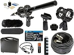 Professional Advanced Broadcast Microphone and accessories Kit for NIKON DSLR D5, D4S, D750, D810, D810a, D300s, D500, D610, D7100, D7200, D3300, D3200, D5100, D5300, D5500, D5600 Cameras