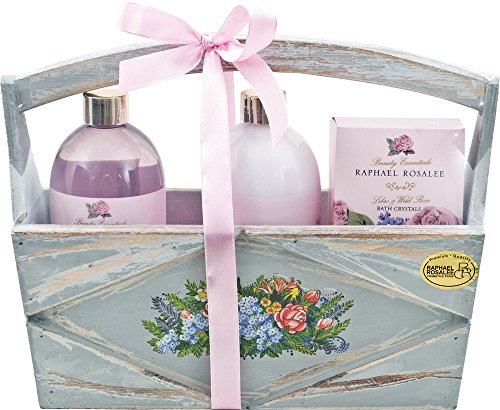 Flowers No. 88, Wildrose, Beauty & Wellness Geschenkset (5-teilig) von Raphael Rosalee Cosmetics