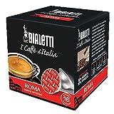 160 Capsule Alluminio I Caffe' D'Italia Bialetti Mokespresso Roma Originali