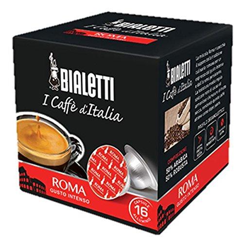 160 Capsule Alluminio I Caffe\' D\'Italia Bialetti Mokespresso Roma Originali