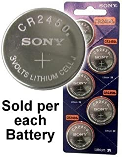 cr2450n lithium battery
