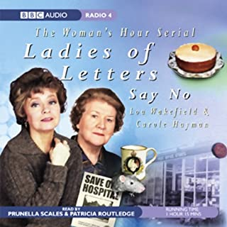 Ladies of Letters Say No audiobook cover art