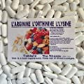 "The Vitamin L-Arginine, L-Ornithine, L-Lysine 120 Tablets ""Lean muscle mass"" 1-4 per day L from The Vitamin"