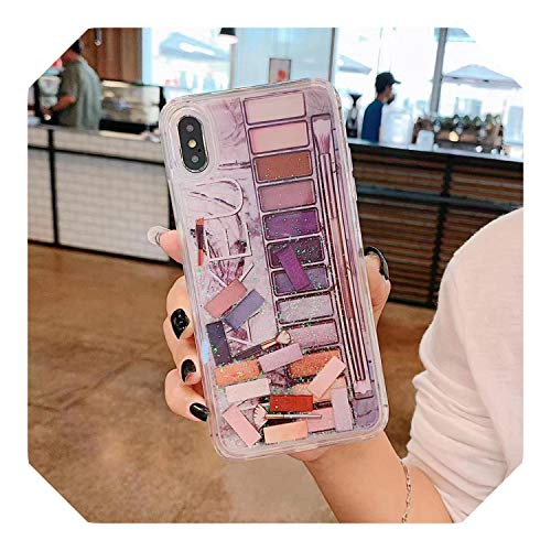 Chica Maquillaje Sombra de ojos Caso Para iPhone Funda Para iPhone 11ProMax XR X XS MAX 7 8 6S 6Plus