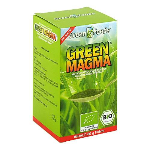 GREEN MAGMA Gerstengrasextrakt Pulver 80 g