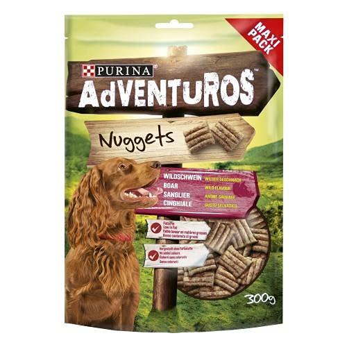 Purina Adventuros Snacks para Perro Nuggets, 300gr 540 g ✅