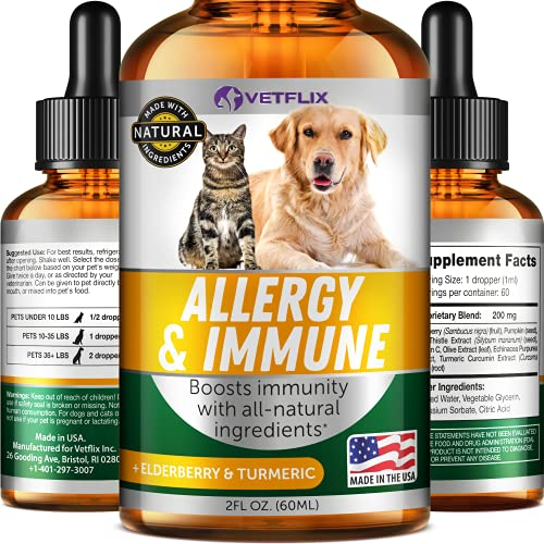 Herbal Pet Supplement for Immune System Support