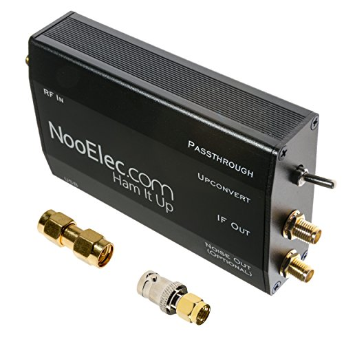 Ham It Up Plus HF/MF/LF/VLF/ULF Upconverter mit TCXO und separatem Noise Source Circuit. Vollständig zusammengebaut in benutzerdefiniertem Metallgehäuse. Erweitert den Frequenzbereich Ihres Liebling