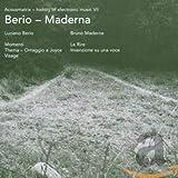 Acousmatrix VII Berio-Maderna