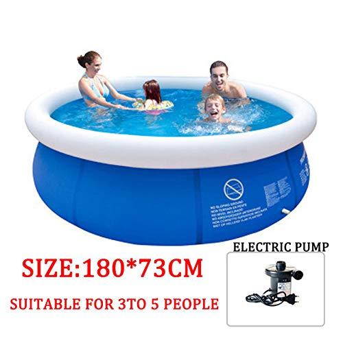 DOOS, piscina para niños, piscina inflable Adultos Piscina para niños Tina de baño Piscina al aire libre Piscina redonda Piscina infantil Piscina inflable de gran tamaño