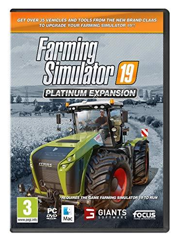 Farming Simulator 19 - Platinum Expansion (PC DVD) (輸入版)