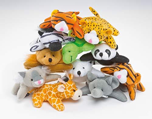 """Baker Ross Bean Pals """"Kleine Tiere"""" - Stofftiere für Kinder - Spielzeug als Mitgebsel und Preis beim Kindergeburtstag (10 Stück), EF613"""