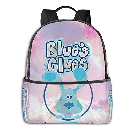 AOOEDM Backpack Blues Clues Men Women Backpack Lightening School Bag Multi-Purpose Sports Bag Bulk Shoulder Bag for School Sports