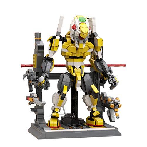 Fujinfeng Mech Figur Bauset Kompatibel Mit Lego, 1205+Pcs Mech Modell Bauspielzeug Blöcke Spielzeug