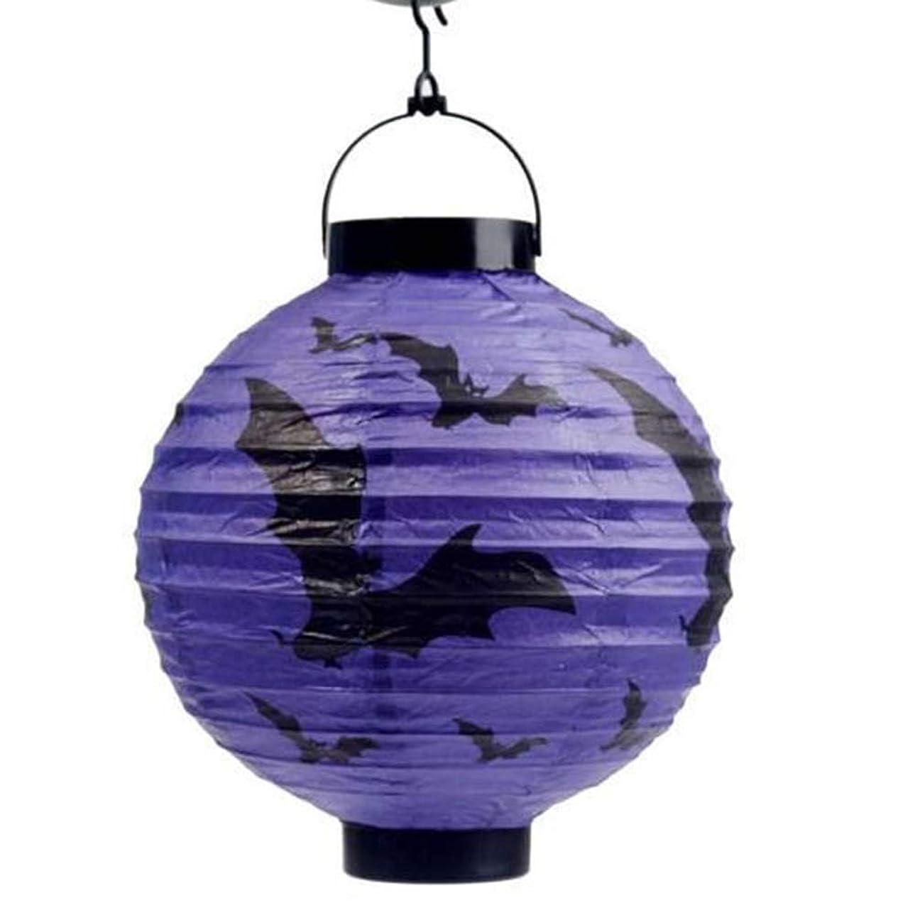 旋律的丁寧恩恵ハロウィン小道具、パーティーバー、お化け屋敷の装飾品、かぼちゃ提灯、かぼちゃ提灯、4色、ワンサイズ