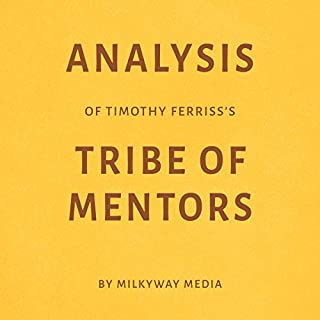 Analysis of Timothy Ferriss's Tribe of Mentors cover art
