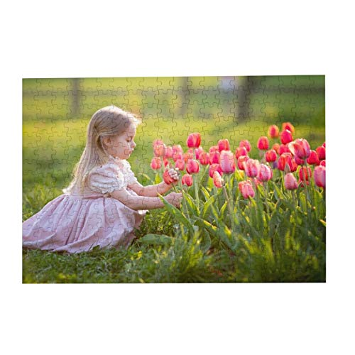 Personalized Puzzle Custom Puzzle 300/500/1000 Pieces from Photo Custom Jigsaw Puzzle for Adult and Kids Family, Wedding, Graduation, Gift