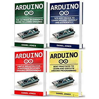 Arduino Books: 4 Books in 1 audiobook cover art